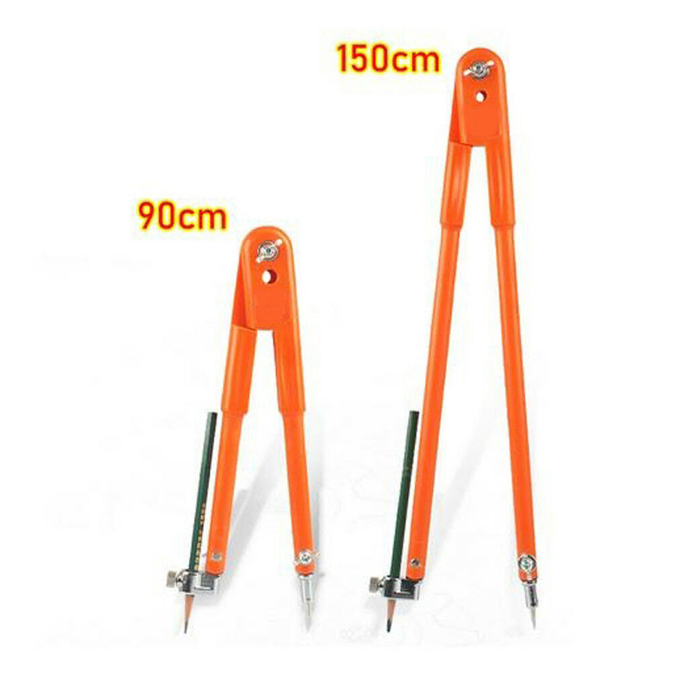 Large + Small Scriber Woodworking Compass Adjustable Scriber Circle Drawing Marking Scribing Tool S 25x90cm + L 40x150cm