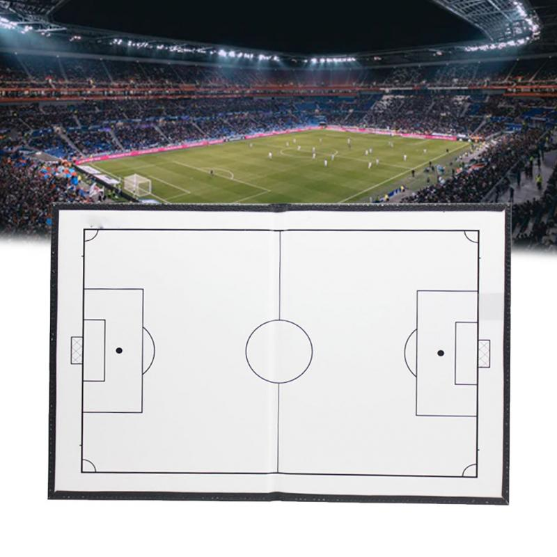 Accessories Football Basketball Portable Training Tactics Foldable Magnetic Handheld Soccer Coaching Board With Marker Teaching