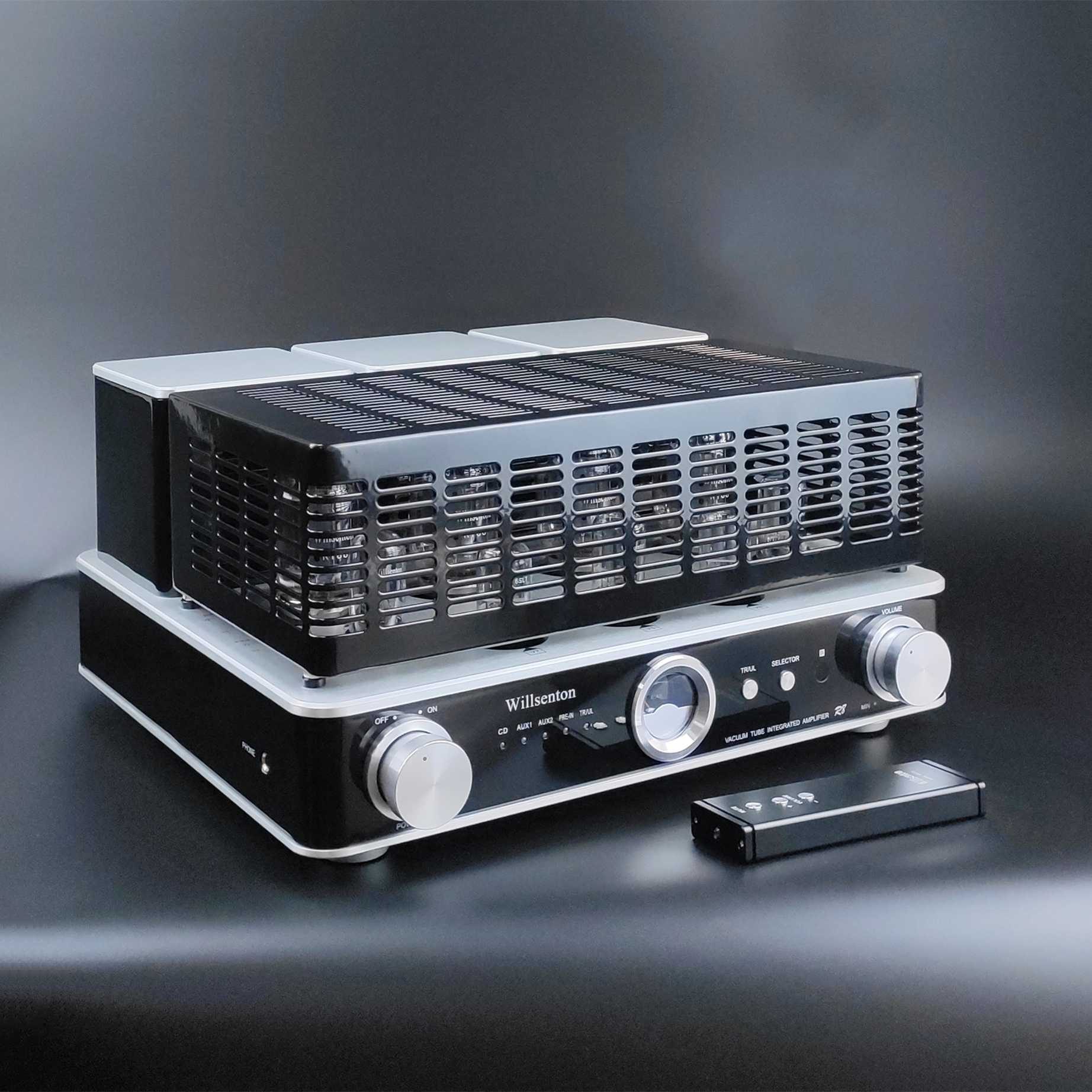 Willsenton R8 Stereo Amplifier Tabung KT88x4 atau EL34 * 4 Integrated Amplifier dan Power Amplifier & HEADPHONE AMP Semua Dalam satu