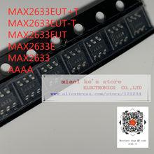 [10 pces-50 pces] 100% novo original: max2633eut + t MAX2633EUT-T max2633eut max2633e max2633 aaaa-ic amp cell 100 mhz-1 ghz SOT23-6