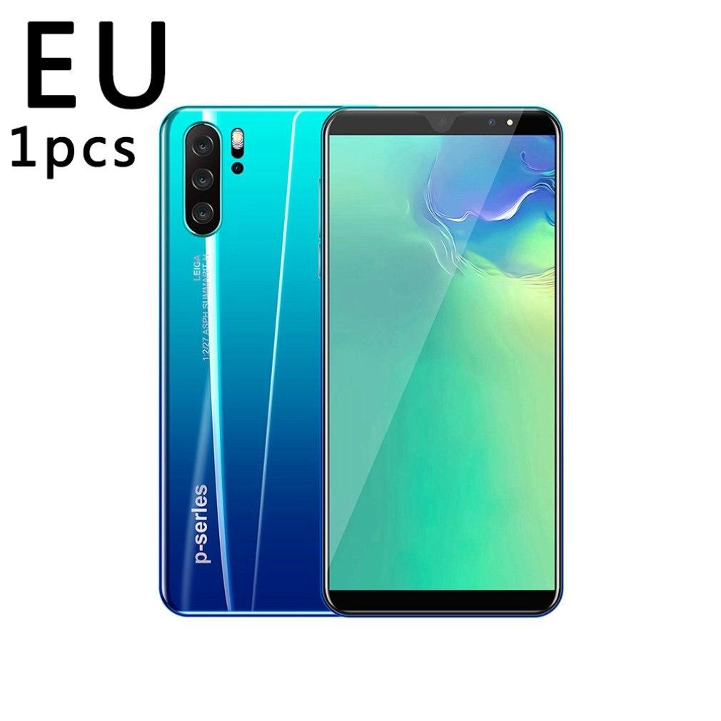 P33 смартфон 5 дюймов 3G большой Экран мобильный телефон 512 МБ ОЗУ высокого Ёмкость реальный отпечаток пальца уход за кожей лица разблокировка ...