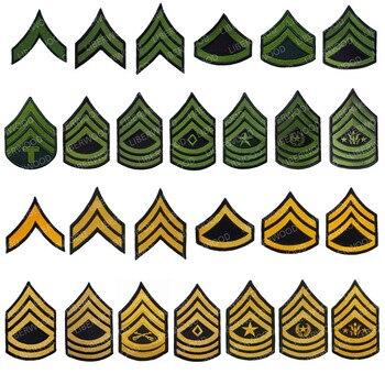 Parche para brazalete de la Armada de los EE. UU., banda de EUA, chevrón, Sergeant Rank iron on, brazo con gancho, insignia, emblema brassard