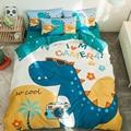 WOSTAR 100%, комплект хлопкового постельного белья размер king size постельное белье и пододеяльник из бамбуковой микрофибры для детей Для мальчико...