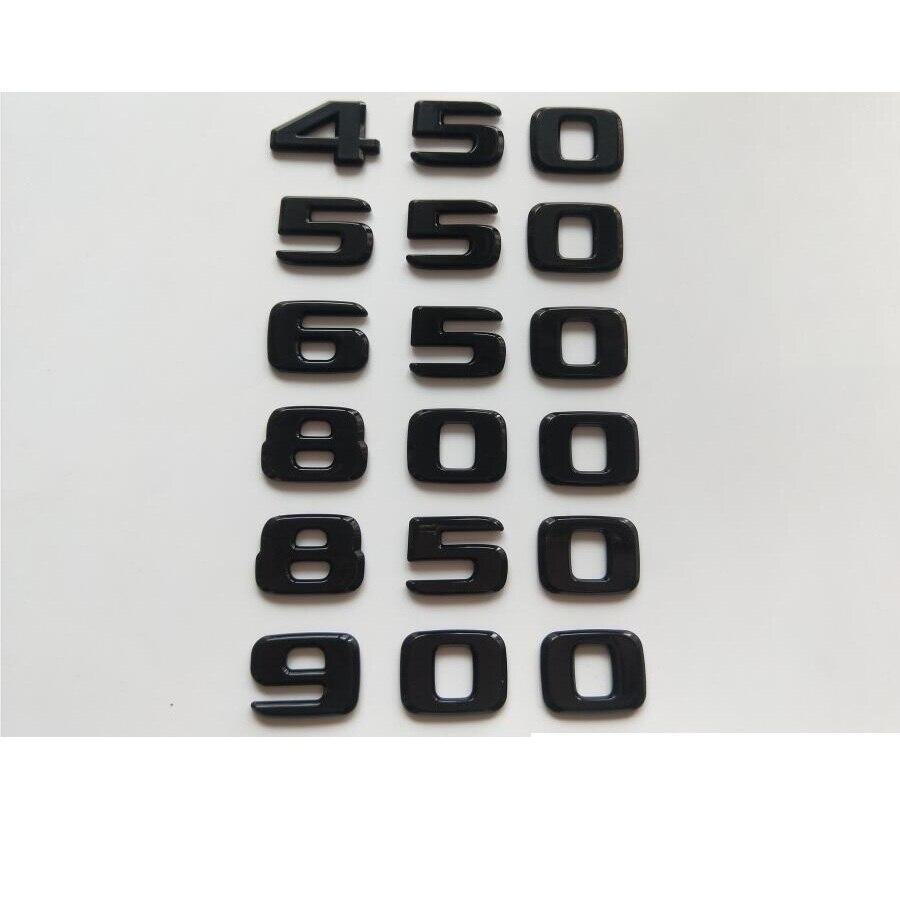 Купить блестящая черная эмблемы для багажника 450 500 550 580 600 650