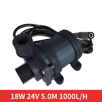 Solar booster pump, DC water submersible pump 12V24V, DC brushless pump, automotive water cooled pump