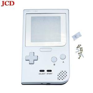 Image 3 - Полностью закрытый чехол JCD DIY, сменный корпус для карманной игровой консоли Gameboy для GBP, чехол с кнопками, объектив класса