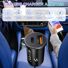 Car Phone Charger USB Charger Adapter 12V 24V Car Lighter 3.1A Dual USB Quick Charging Adapter For IPhone Huawei Xiaomi Samsung