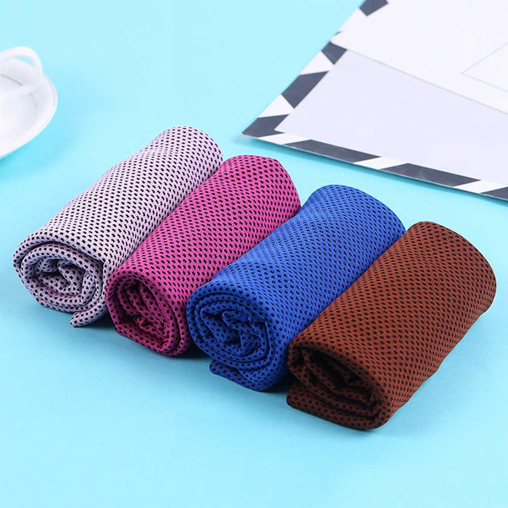 Verano reutilizable Deporte Fitness Yoga Cool duradero cara de hielo de secado rápido toalla fría al aire libre deportes toalla fría
