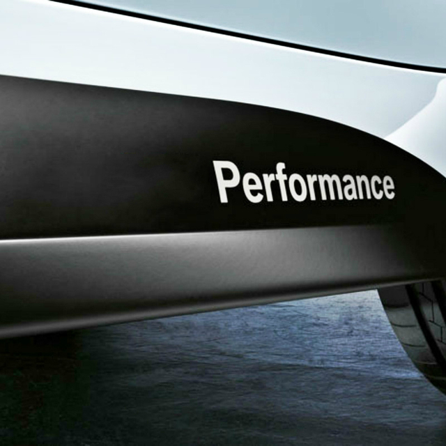 2 X Newest Car Styling Performance Stickers and Decals Accessories