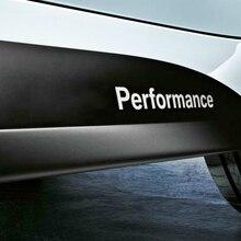 2 X רכב החדש סטיילינג ביצועים מדבקות ומדבקות אביזרים