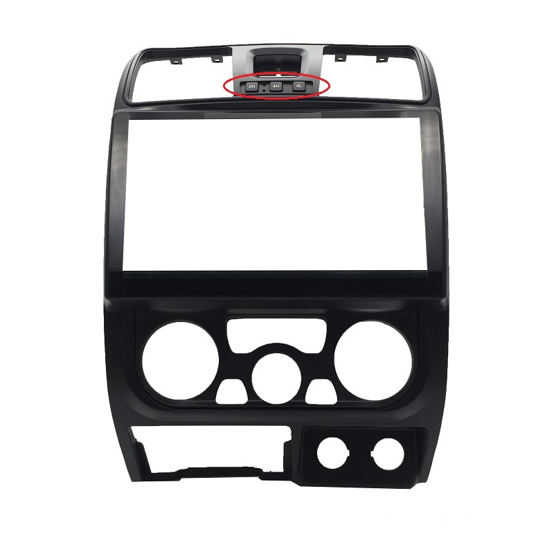 Car multi frame for 2011 Great Wall Wingle 5 audio conversion dashboard panel frame car radio 10.1inch