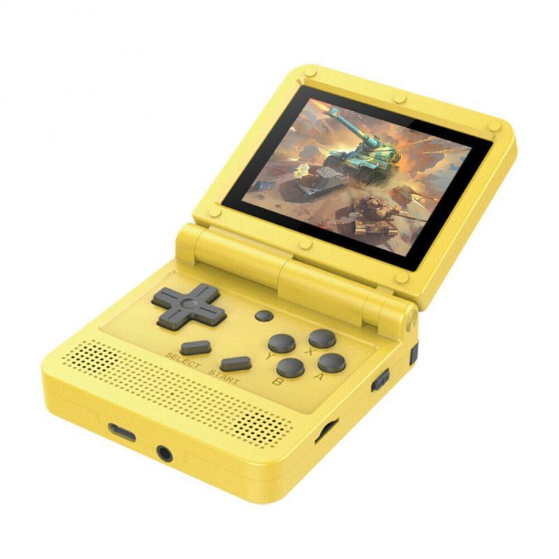 V90 3 0 inch Video Handheld Game IPS Retro Flip Handheld Console Pocket GBA Mini Video Game Player