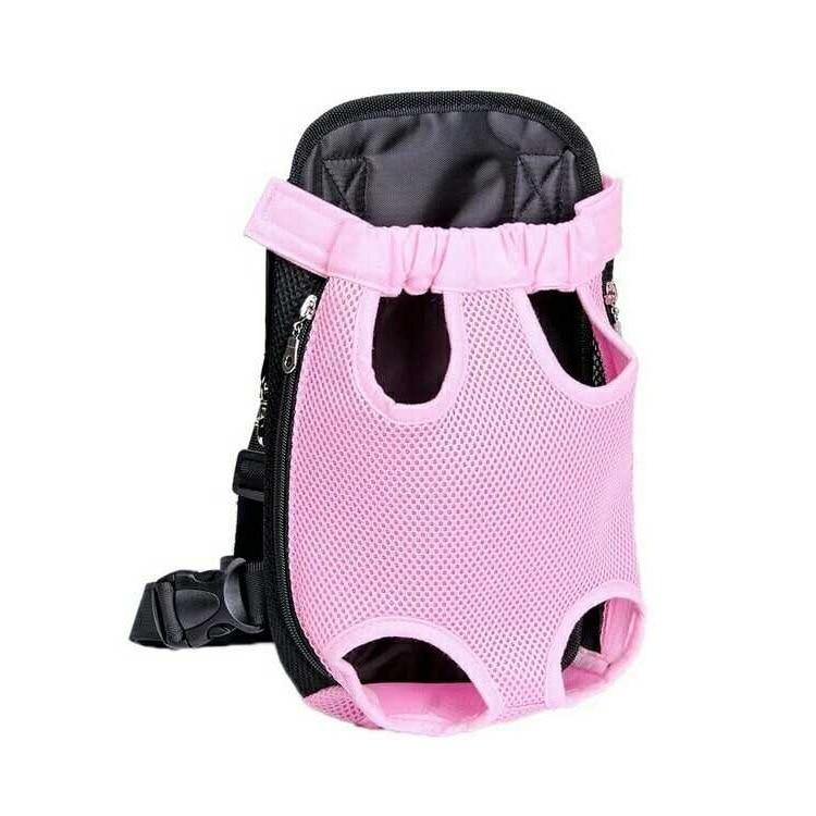 Pet Backpack Dog Cat Nursing Carrying Case Pet Chest Backpack Travel Bag Dog Backpack Mao Mi Bao