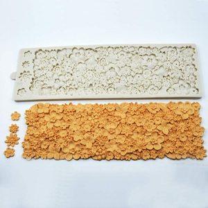 3D silikonowe formy ciasto kremówka koronki do wytłaczania ciasta formy słodka koronka mata ciasto narzędzie dekoracyjne tłoczenie Mat dekorowanie formy