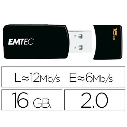 USB MEMORY EMTEC FLASH GB 16 20 EM-DESK