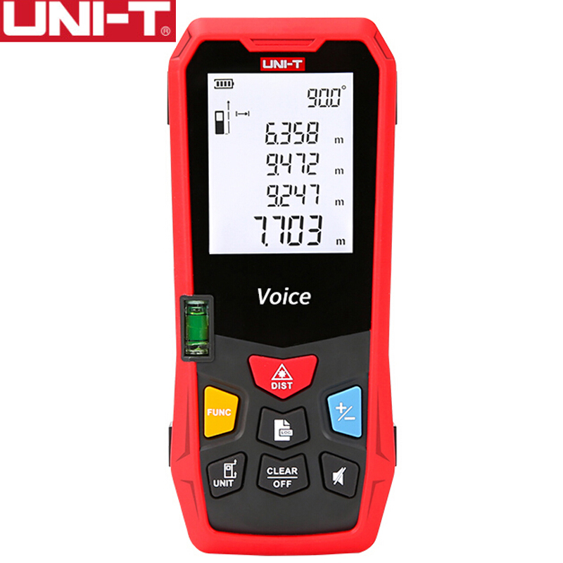 UNI-T LM70V Laser Range Finder 70 Meters Voice Broadcast