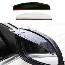 2 шт ПВХ автомобильная наклейка на зеркало заднего вида защита