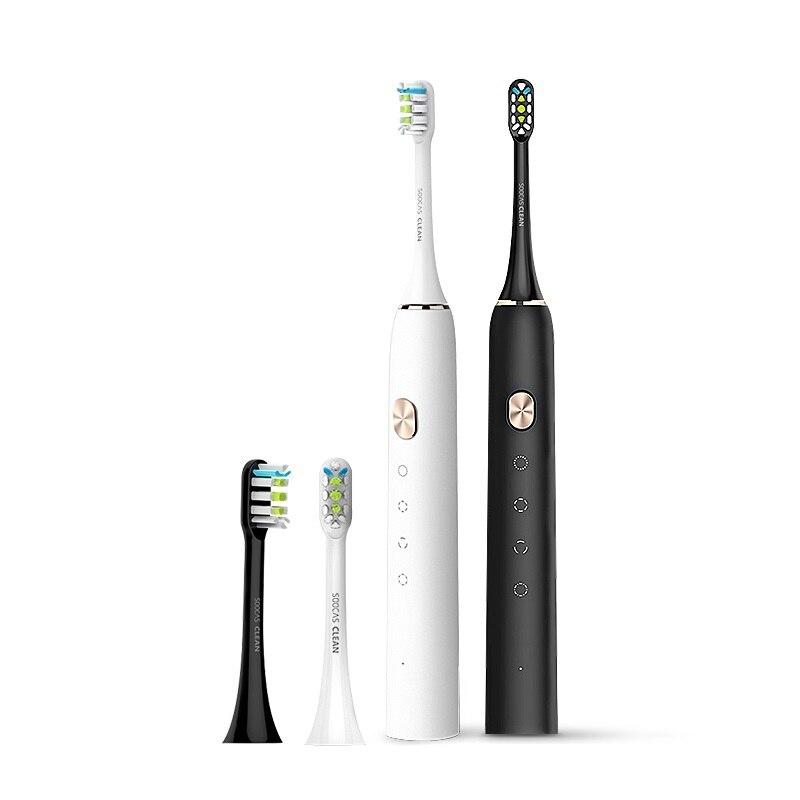 SOOCAS – brosse à dents électrique sonique X3U-S, brosse à dents ultrasonique automatique, mise à niveau, charge rapide, étanche, pour adulte