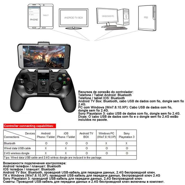 Gamepad Game Pad Mobile Joystick For Android Cellular Cell Phone  5