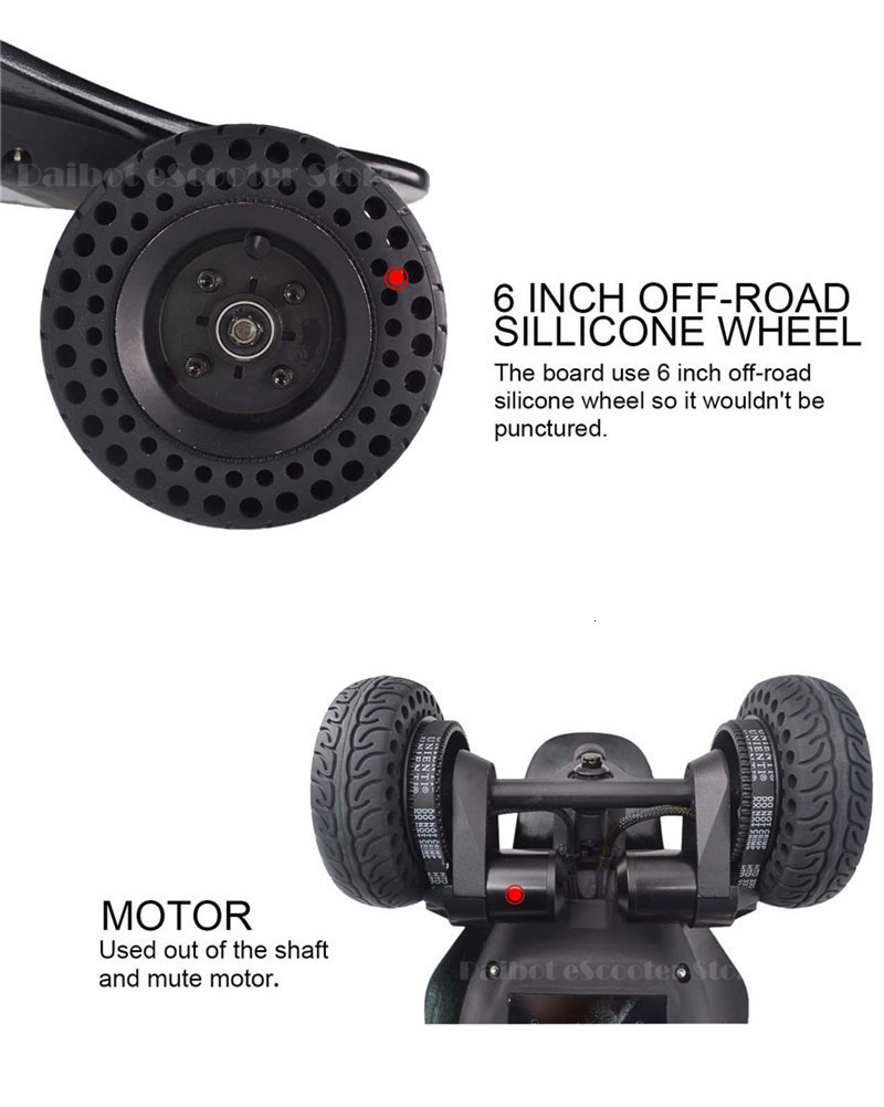 Daibot Powerful Electric Scooter 2000W 4 Wheels Electric Scooters Off Road SUV Adults Electric Skateboard Longboard With Remote (23)