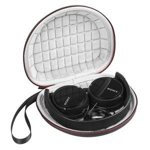 Image 5 - Caso duro per Sony MDRZX110NC/ZX300/ZX310/MDRZX110 ZX Series Stereo/MDRZX110AP Extra Bass Cuffie di Viaggio sacchetto di trasporto Bagagli