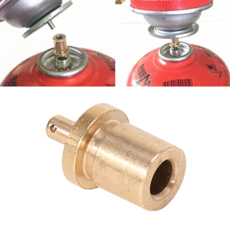 Gas Refill Adapter Outdoor Camping Stove Gas Cylinder Gas Tank Gas Burner Accessories Hiking Inflate Butane Canister