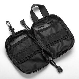 Image 4 - 야외 응급 처치 응급 의료 가방 의학 마약 알약 상자 홈 자동차 생존 키트 emerge 케이스 작은 900d 나일론 주머니