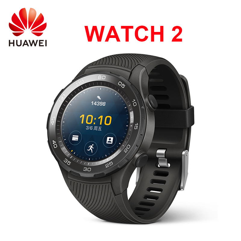 Original Huawei Watch 2 Smart watch Supports Bluetooth 4G Phone Call For Android iOS GPS heart