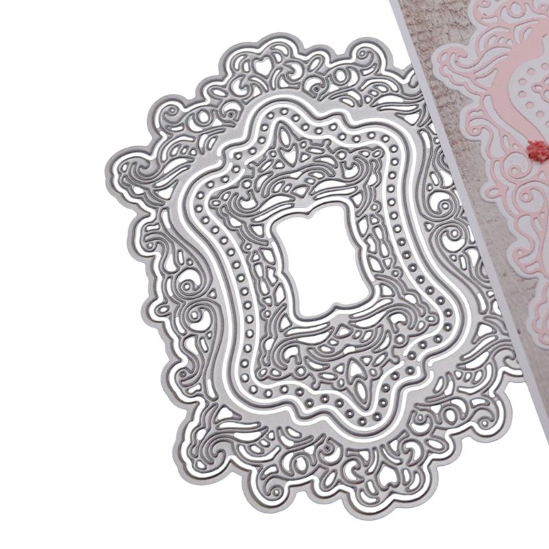 Lace Cutting Dies Metal Stencil DIY Scrapbooking Paper Card Embossing Craft