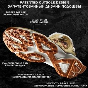 Image 2 - Зимние ботинки RAX для мужчин и женщин, флисовая походная обувь, уличные спортивные кроссовки, мужская горная обувь, треккинговые прогулочные ботинки