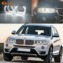 Excelente luz do dia ultra brilhante dtm estilo led anjo olhos de auréola anéis acessórios do carro para bmw x3 f25 lci g01 x4 f26 g02
