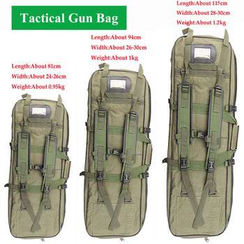 Tactical Gun Bag Military Equipment Shooting Hunting Bag 81/94/115CM Outdoor Airsoft Rifle Case Gun Carry Protection Backpack 1