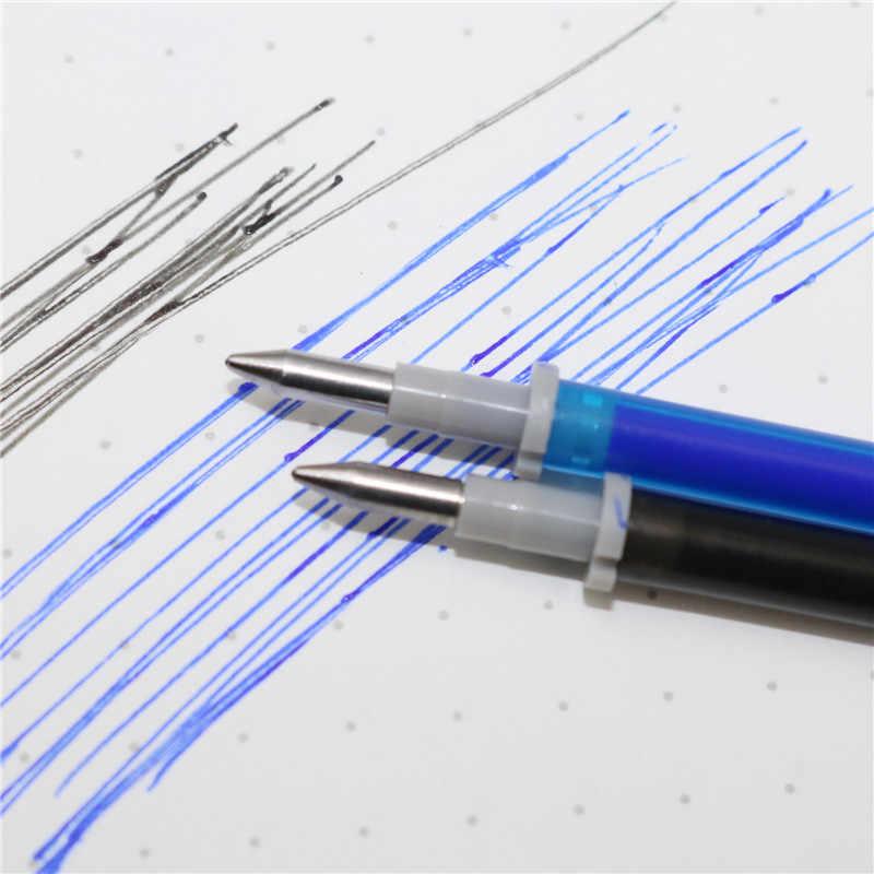 10 sztuk Bullet kasowalna wkład żelowy wkład do pióra podpis biurowy niebieski czarny atrament napełniania biuro szkoła papiernicze pisanie materiałów eksploatacyjnych