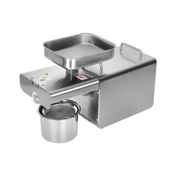 ITOP Stainless Steel Oil Presser Home Use Oil Press Machine Peanut/Olive Oil Maker 220V/110V Suitable For Sesame/Almond IT-15 sg30 1 edible peanut oil press machine high oil extraction rate labor saving stainless steel oil presser for household