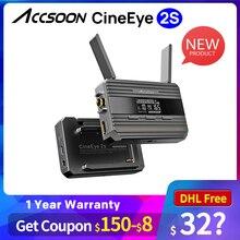 Accsoon CineEye 2s bezprzewodowy System transmisji wideo SDI HDMI podwójny interfejs obrazu bezprzewodowy nadajnik wideo odbiornik pk holl