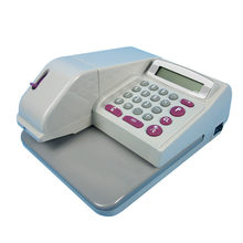 14 Digits LCD Display Cheque printer Check Writer protect check High Printing Speed Easy Operation Check Printer()