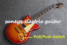 Suneye CS Cherry Sunburst YMH Style Suneye SG Guitar Electric Pull/Push Switch SG Guitarra Electrica Suneye Electric Guitar Kit custom shop sg special electric guitar single p90 pickup sg guitar