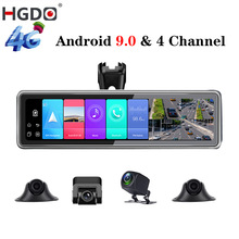 DVR Rearview-Mirror Video-Recorder Car-Camera Android HGDO Registrar ADAS Auto GPS HD
