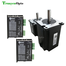 Laser  machine used 3 phase leadshine stepper motor 573S10 573S20 and driver 3DM580 package selling