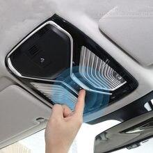 Para bmw série 5 g30 g38 2018 tiras de luz leitura decoração capa guarnição auto interior modificado decalques