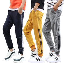 Kids Sweatpants Korean-Trousers Big-Childr Girls Boys Warmth Autumn Winter for And Thickened