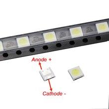 50pcs 2W 6V 3535 TV Backlight LED SMD Diodes Cool White LCD