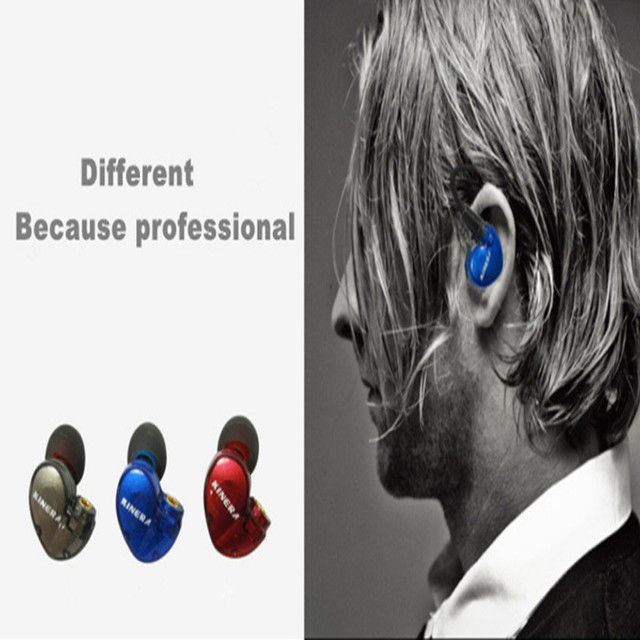 Office KINERA Bd005 ring iron bass into the ear Bluetooth sports in-ear earphone for the phone ear noise reduction DIY 6