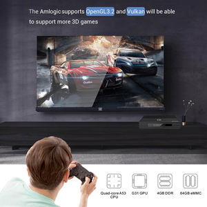 Image 3 - Смарт ТВ бокс Android 9,0 A95X F2 Amlogic S905X3 4 Гб 64 ГБ 32 ГБ Поддержка 2,4G 5G двойной Wifi 1080p 4K pfs Google Player TVBOX A95XF2