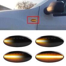 Dynamische Sequential blinker licht Für Nissan Qashqai Juke X trail Micra März Hinweis E11 Blinker led Seite marker lichter