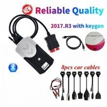 2021 NEW VCI vd ds150e cdp Bluetooth 2017R3 KEYGEN for delphis VD TCS CDP PRO PLUS diagnostic repair tool car/truck obd2 Scanner