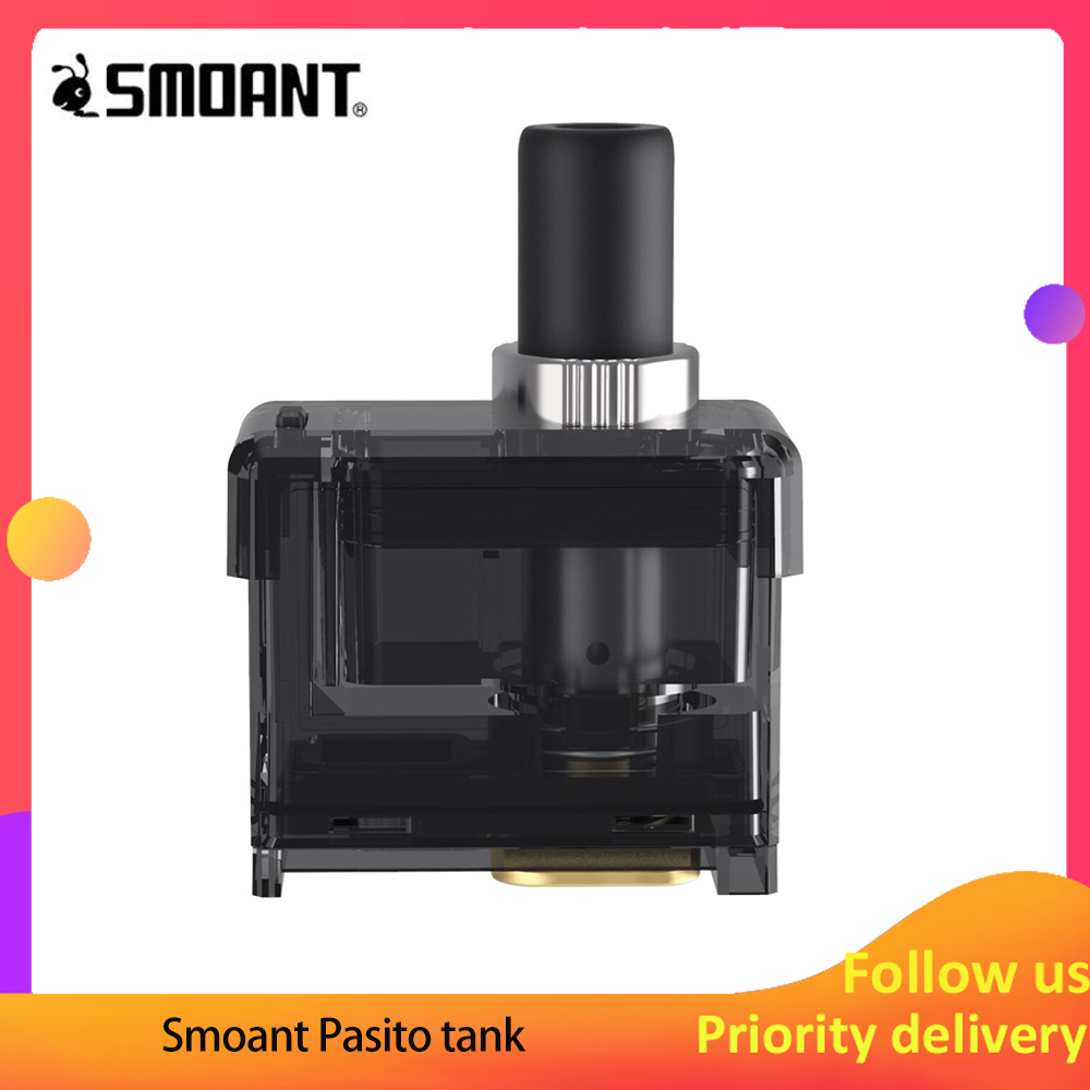 Free Gift Vape Cartridge Smoant Pasito Tank Vape Pod 3ml E Cigarette  For Smoant Pasito Pod Kit Replacement Cartridge