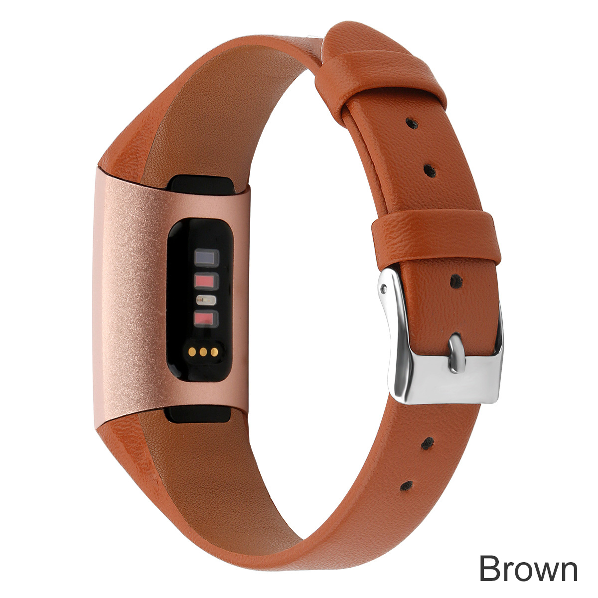 Essidi Geniune Leather Strap For Fitbit Charge 3 4 Smart Bracelet Band Clasp For Fitbit Charge 3 4 Wristband Loop 2