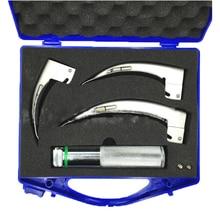 Medical Laryngoscope Bulb Adult Full Stainless Steel Bulb Laryngoscope Set made in C
