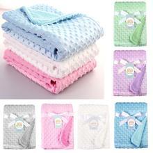 Mantas de bebé recién nacido, forro polar cálido, cochecito suave térmico, cubierta para dormir, sombrero de bebé de dibujos animados, ropa de cama, manta, Toalla de baño para niños